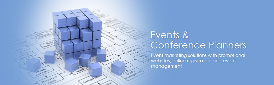 Events and Conference Planning solutions